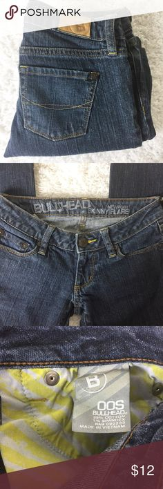 7166bf7ba21 Bullhead Juniors jeans Newport Skinny Flare OOS