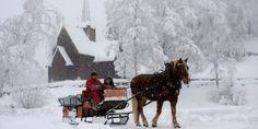 Opplev gammeldags julestemning på julemarked på Maihaugen på Lillehammer.