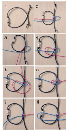 Square Sliding Knot Tutorial