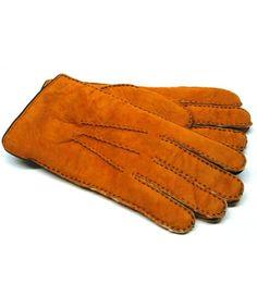*BOXING WEEK* 2 Pairs Mens Genuine Black Sheepskin Leather Shearling Fur Gloves