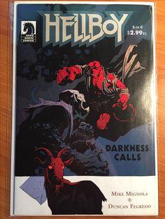 Hellboy Darkness Calls #6 -  November 2007 - Dark Horse