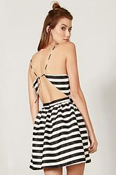Flirty Stripped Cutout