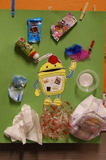 WELKOM IN DE KIKKERKLAS !: MOS project: ook de kleinste kleuters doen mee ! Kindergarten, Recycling, Daycare Crafts, Childhood Education, Earth Day, Projects For Kids, Upcycle, Teaching, Learning