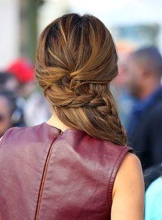 pretty braided 'do