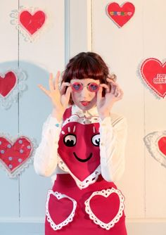"""The Terrier and Lobster: """"Miss World"""": Meadham Kirchhoff Spring 2012 in Rookie"""