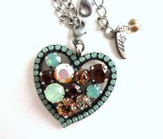 Hey, I found this really awesome Etsy listing at https://www.etsy.com/listing/178156034/swarovski-crystal-detachable-heart