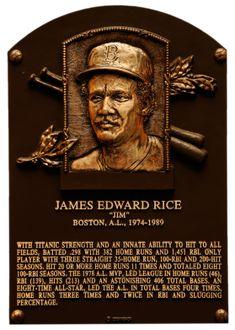 Rice, Jim   Baseball Hall of Fame