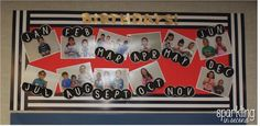 Organizing your classroom birthdays made easy!