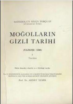 Ahmet Temir Moğolların Gizli Tarihi.pdf https://yadi.sk/i/g3uMfu7X3KUKm7
