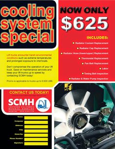 SCMH Features & News: Price Change on SCMH Cooling System Special