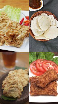 Halal Recipes, Snack Recipes, Cooking Recipes, Savory Snacks, Indonesian Food, Diy Food, Street Food, Food Videos, Food To Make