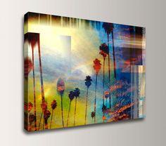 Beach Photography  Coastal Art  Photo Collage by TheModernArtShop, $85.00