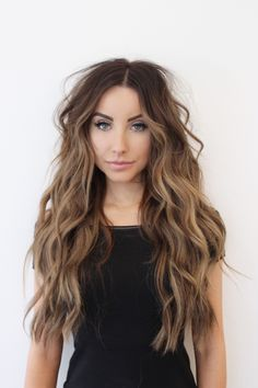 The trick to getting the perfect beach waves is an extra long curling iron. You'll get even heat distribution and no hair overlapping so the curl will hold all day. hair The Perfect Beach Waves! Face Shape Hairstyles, Frontal Hairstyles, Straight Hairstyles, Braided Hairstyles, Beach Hairstyles, Wand Hairstyles, Funky Hairstyles, Hairstyles Haircuts, Curly Hair Styles