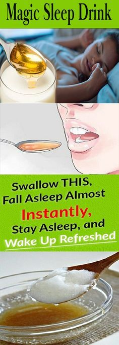 Swallow This, Fall Asleep Almost Instantly, Stay Asleep, and Wake Up Refreshed#health #beauty #getrid #howto #exercises #workout #skincare #skintag #bellyfat #homeremdieds #herbal