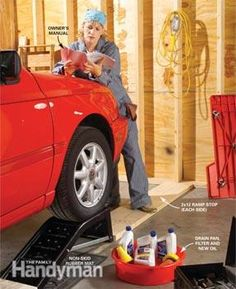 How to Change Car Oil | The Family Handyman