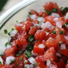 Fresh Tomato Salsa Allrecipes.com