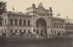 Edouard Baldus - Palace of Industry at World Exhibition in 1856, Paris