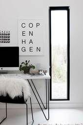 BHS | copenhagen typography print | home design
