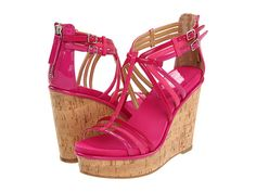 Nine West Romancing Pink Multi Synthetic - 6pm.com