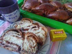 Háromízű ostoros kalács | Budafoki élesztő Izu, French Toast, Bread, Breakfast, Food, Meal, Brot, Eten, Breads
