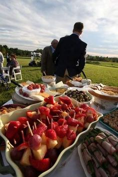 Christa Michaels Potluck Pig Roast Farm Wedding