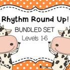 **Bundled Set**  Save 2 dollars!  Rhythm Round Up is a fun way to practice identifying and playing rhythms in music class.  This fun game is sure t...
