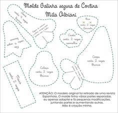MOLDE DE PRENDEDOR DE CORTINAS DE GALLO NEGRO