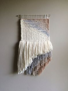 Abstract+Handwoven+Wall+Hanging+by+LaurenRodmanDesigns+on+Etsy
