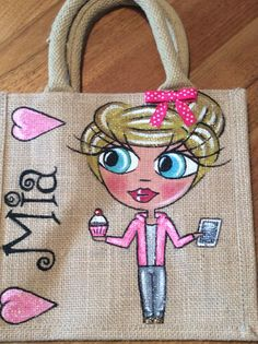 Berrysdesigns.co.uk personalised jute bags