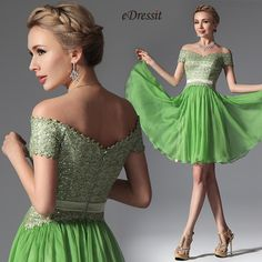 eDressit grünes Kleid 04144055