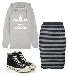 """Untitled #873"" by carrieveland on Polyvore featuring adidas Originals, Alexander Wang and Converse"