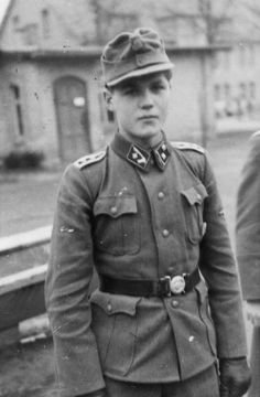 SS-Hauptscharführer of the Handschar Division at Neuhammer Training Grounds in…