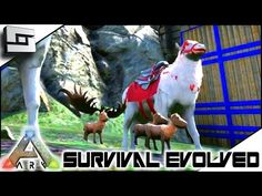 ARK: Survival Evolved - MEGALOCEROS CHRISTMAS MIRACLE! S2E108( Gameplay ) - YouTube
