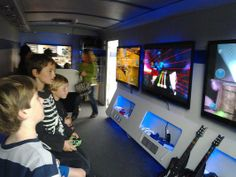 If all your kiddo wants to do for his birthday is play video games with his buddies, then here are five party options your little gamer will love.