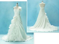 Alfred Angelo Disney gowns. Ariel.