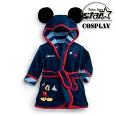 >> Click to Buy << 2016 Baby Pajamas Robe Baby Mickey Minnie Bathrobes Baby Homewear Flannel Sleeprobe Children Cute Lovely Sleepwear #Affiliate