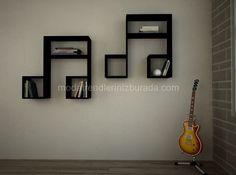Pahalı Dekoratif duvar rafı fotosu