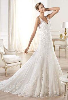 Wedding Dresses London - Pronovias Wedding Dresses 'Onija' - Teokath of London