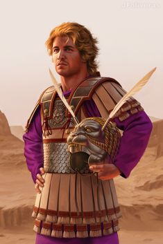 Alexander the Great by Joan Francesc Oliveras Pallerols on ArtStation