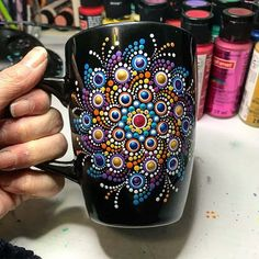 Good Morning! How are you? Mandala cup  by @the_dotted_turtle   For order - send DM to me @the_dotted_turtle #mandalas #spiral #lineart #mandalaart #mandala #zendoodle #zenart #zentangle #ornaments #doodleart #pattern #роспись #мандала #cups #paintings #painters #circle #lines #patterns #artlovers #galleryart #ceramics #ceramic #geometry #abstractart #тарелка #plate #cup #чашка #кружка