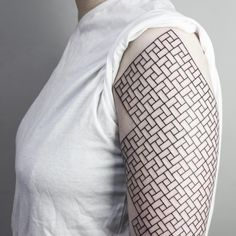 Find the harmony of geometry in these beautiful tattoos by Malvina Maria Wisniewska.