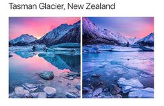 Tasman Glacier, New Zealand Amazing Places On Earth, Beautiful Places To Travel, Cool Places To Visit, Places To Go, Vacation Places, Dream Vacations, Vacation Spots, Travel Aesthetic, Travel Around The World