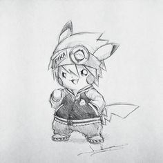 Artist: Itsbirdy | Soul Eater | Pikachu