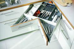 A corner drawer.