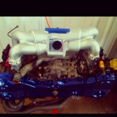 EJ20 with APS and Cosworth parts