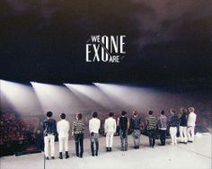 We are one.♥  #exo