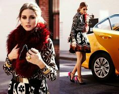 Olivia Palermo (April 2013 - April - Page 49 - the Fashion Spot Estilo Olivia Palermo, Olivia Palermo Fur, Olivia Palermo Lookbook, I Love Fashion, Star Fashion, She's A Lady, Vogue, Leighton Meester, Stylish Girl