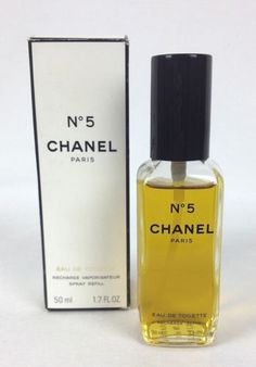 CHANEL-No-5-PERFUME-Eau-de-Toilette-1-7-Oz-PARIS-50-Ml-Spray-Bottle-Womens