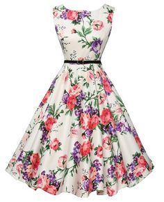 Audrey Hepburn 50s Vintage Rockabilly Dress Vestidos