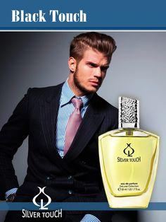 Parfum pentru barbati Black Touch EDP - 50 ml Oriental, Touch, The Originals, Black, Black People